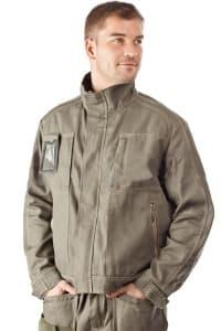 Куртка VITTORIA, главная молния с внешним ветрозащитным клапаном