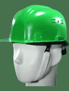 Каска защитная зеленая1