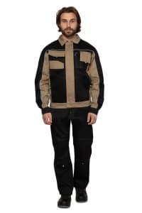 Куртка Бренд чер-беж 1