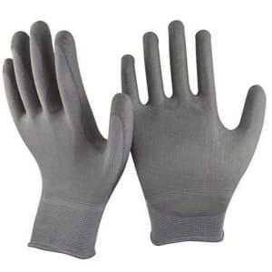 Перчатки нейлоновые серые