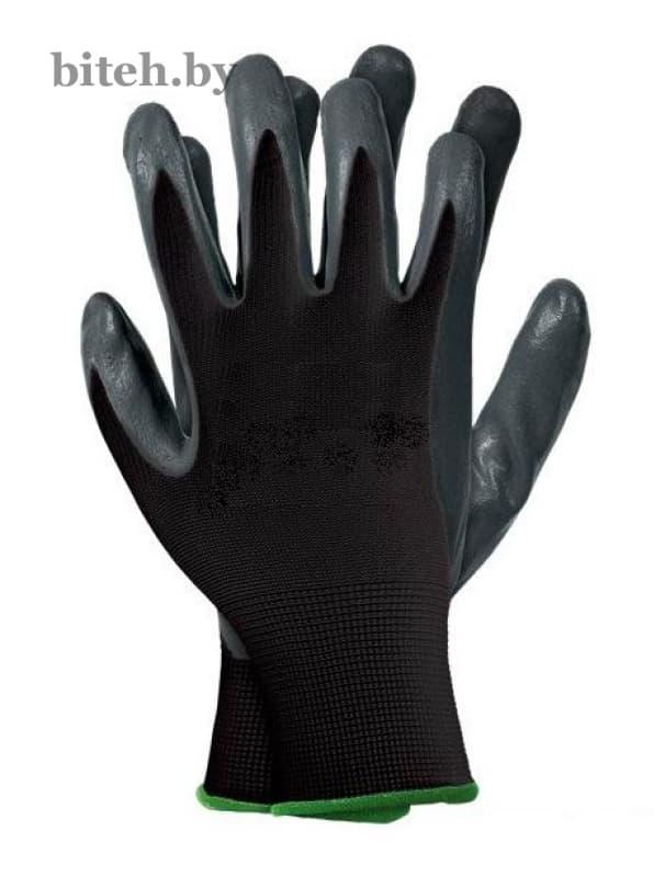 Перчатки нейлоновые с нитриловым покрытием арт. 446
