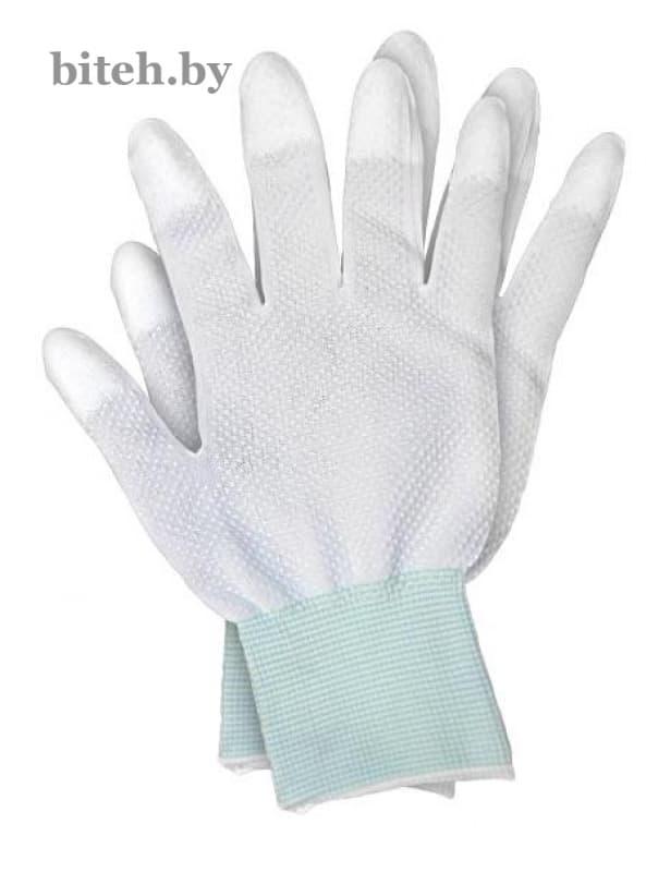 Перчатки нейлоновые с частичным покрытием         арт. 1111