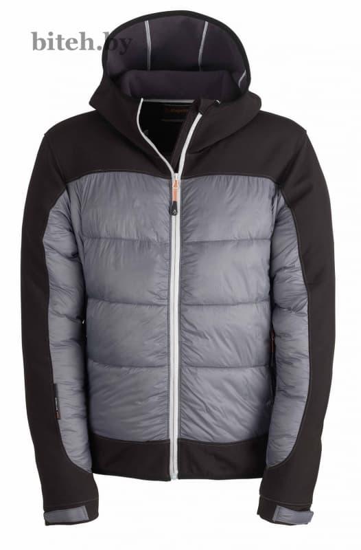 Рабочая утепленная куртка HYBRID JACKET GREY/BLACK