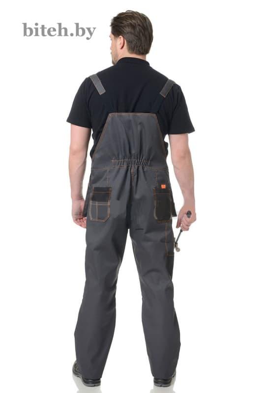 Костюм рабочий ''Бренд-2'' (серый/черный)