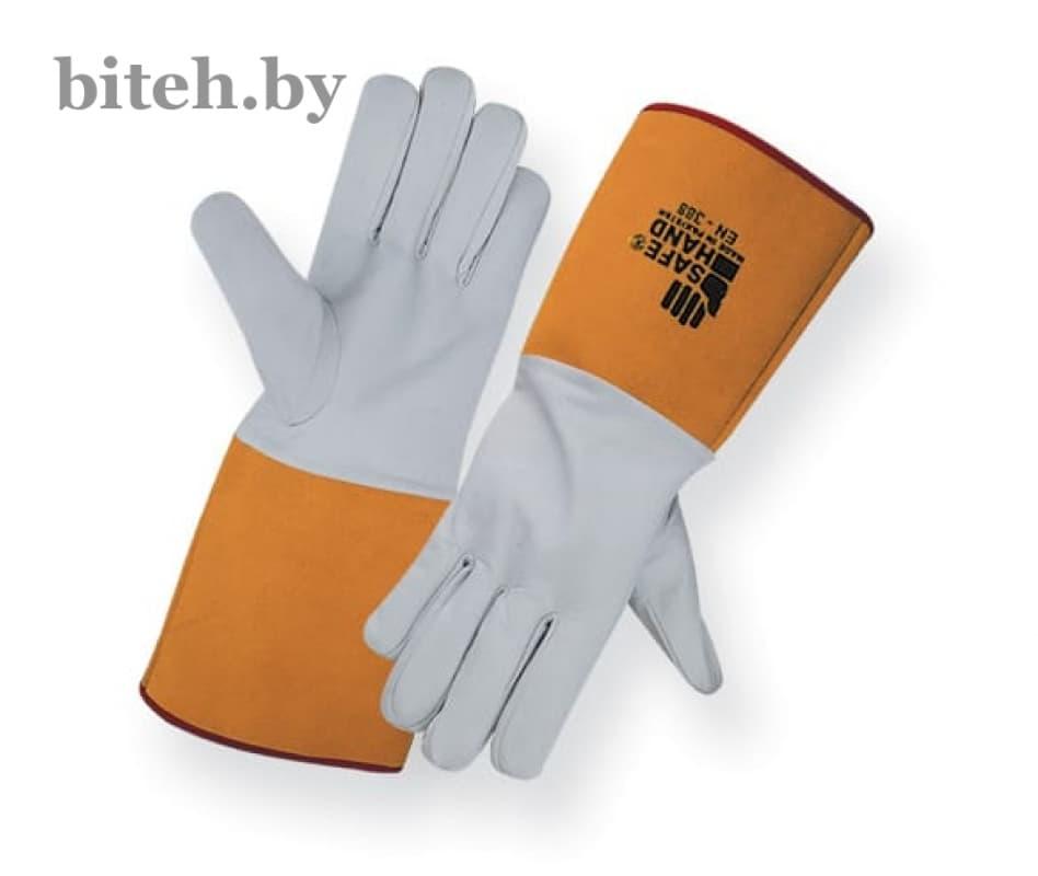 Рабочие перчатки краги для аргонно-дуговой (TIG) сварки арт.SH-2100
