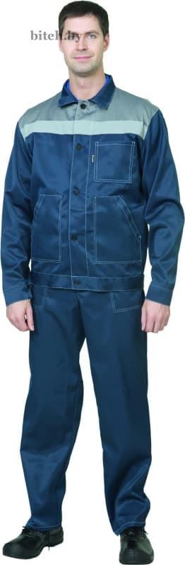 Костюм рабочий «Пантеон» синий