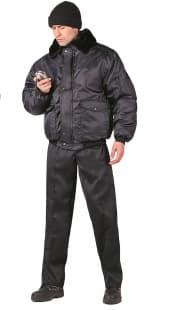 Куртка утепленная ''Альфа'' черная