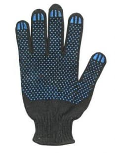 Перчатки трикотажные с ПВХ (10 класс, 45-48г, р-р 20)