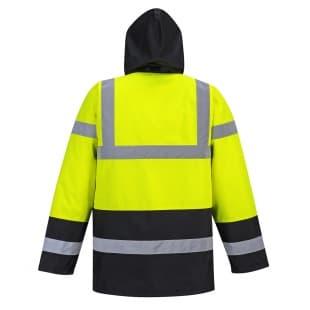 Куртка светоотражающая утепленная дорожника арт. S466
